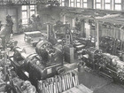 Machine hall of the Laboratory for Machine Tools and Production Engineering in 1937